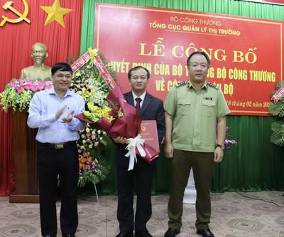 Công bố Quyết định bổ nhiệm Cục trưởng Cục Quản lý thị trường tỉnh Đắk Lắk